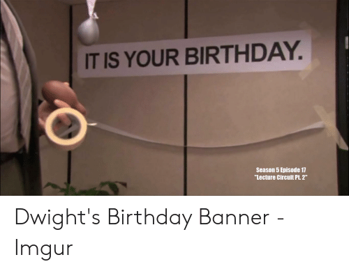 25 Best Memes About The Office Birthday Meme The Office Birthday Memes