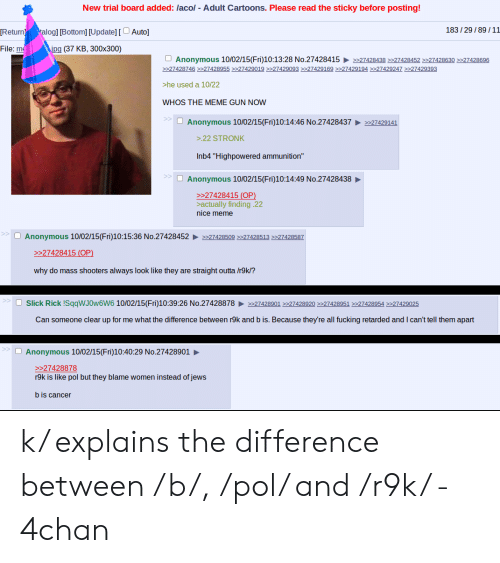 Anon Acts Like Ryan Gosling From Blade Runner 2049 4chan