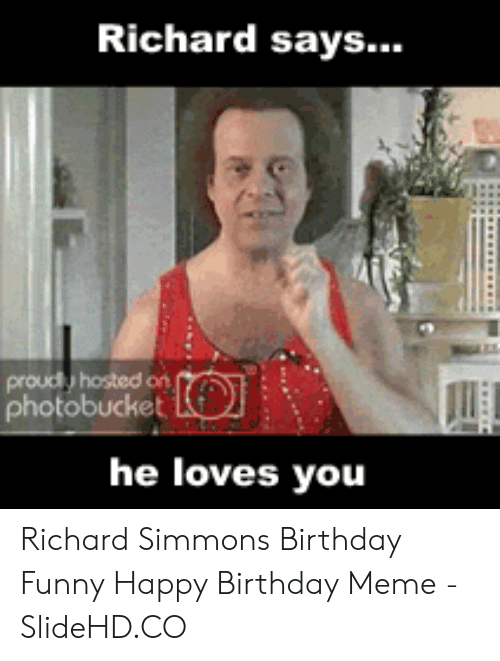 25 Best Memes About Richard Simmons Birthday Richard Simmons Birthday Memes