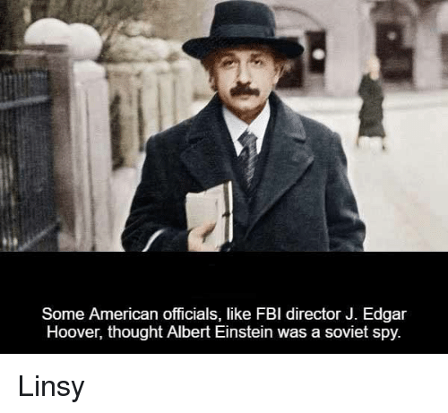 Some American Officials Like Fbi Director J Edgar Hoover Thought