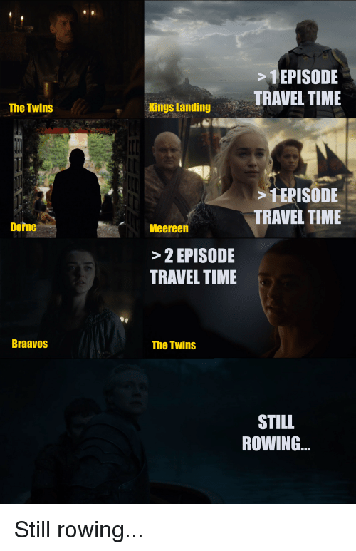 The Twins Dome Braavos Episode Travel Time Kings Landing 1 Episode