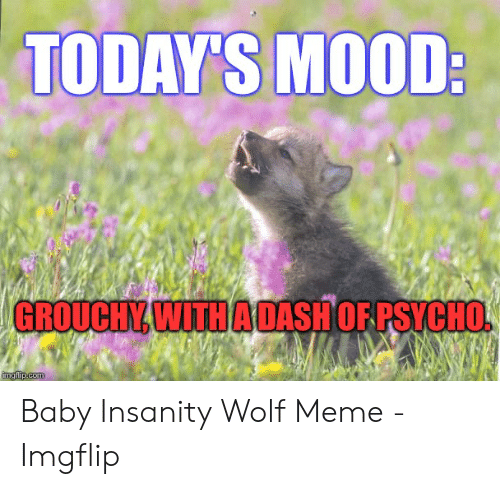 25 Best Memes About Baby Insanity Wolf Meme Baby Insanity
