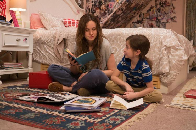 Brie Larson en La Habitación