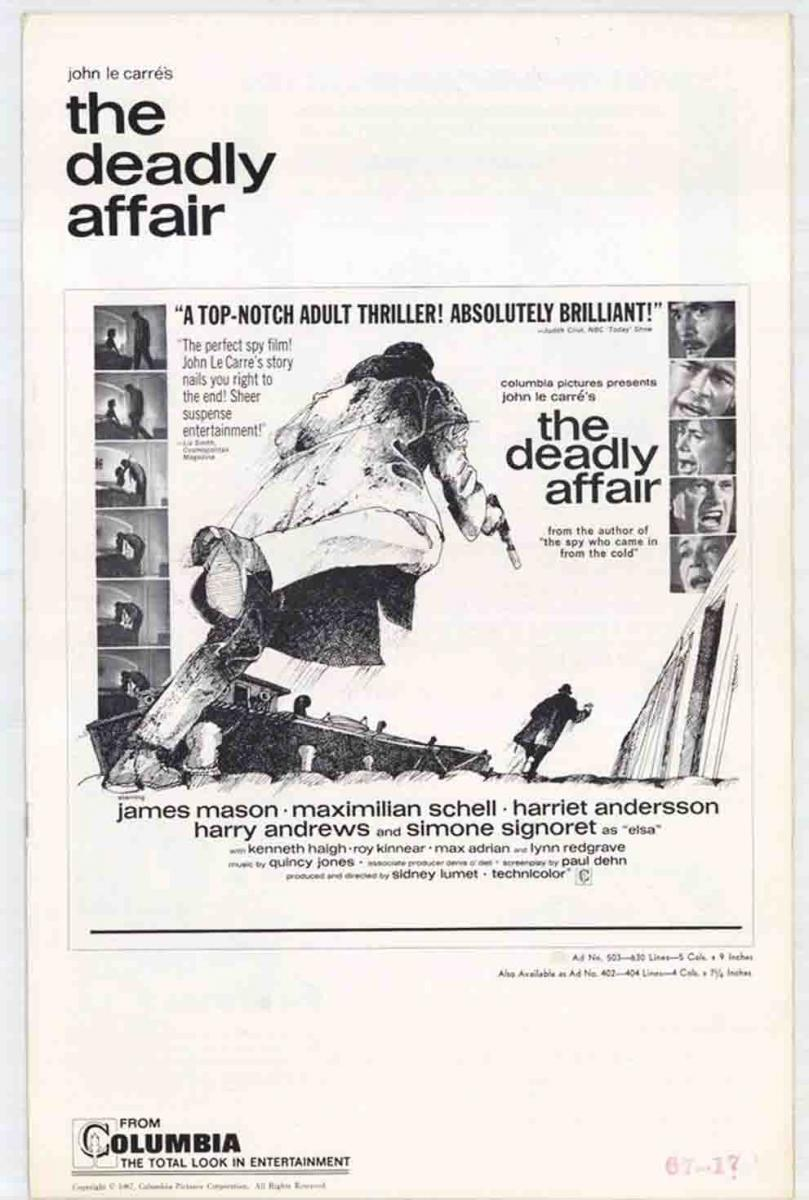 Poster for The Deadly Affair