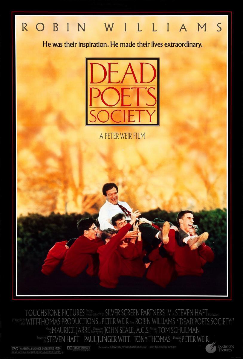 Resultado de imagen de el club de los poetas muertos