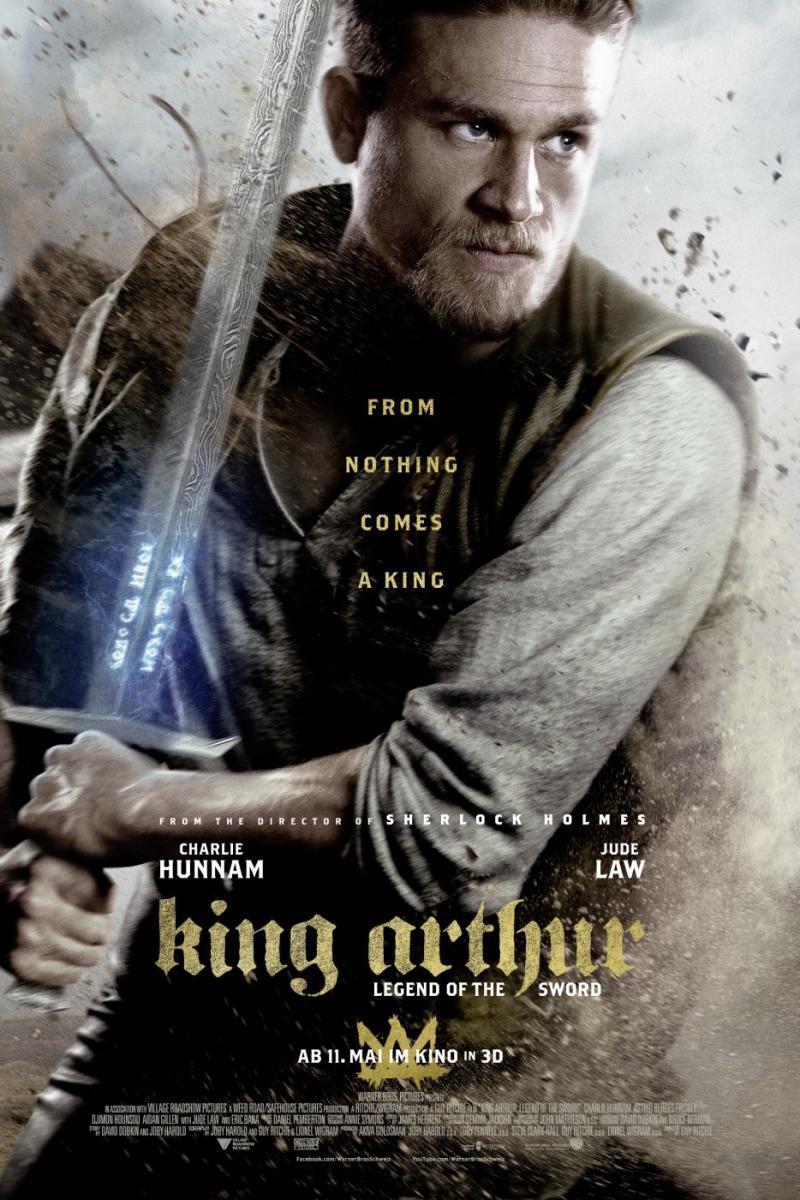 Resultado de imagen para El Rey Arturo La Leyenda De La Espada (2017)