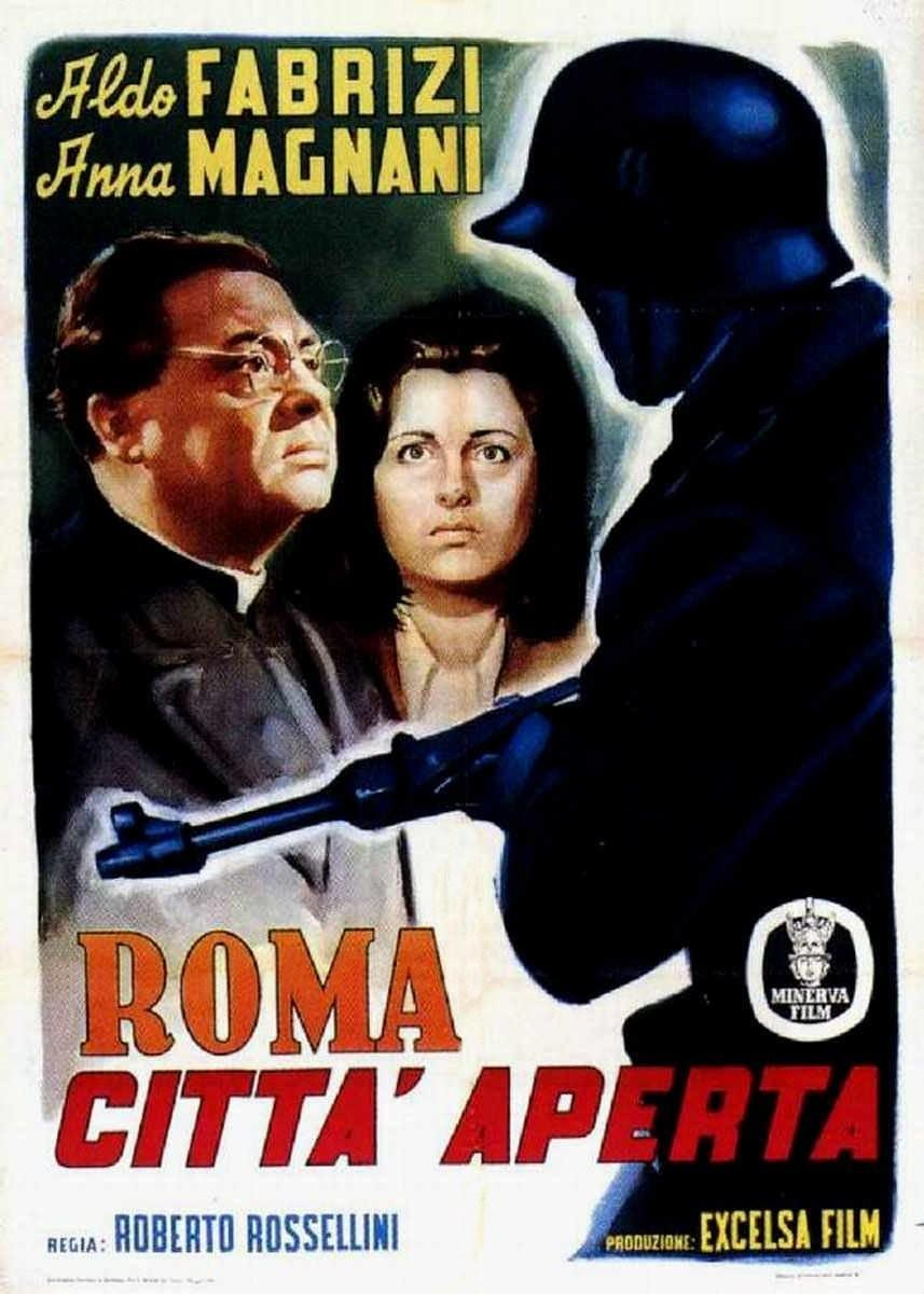 Resultado de imagen de ROMA CIUDAD ABIERTA