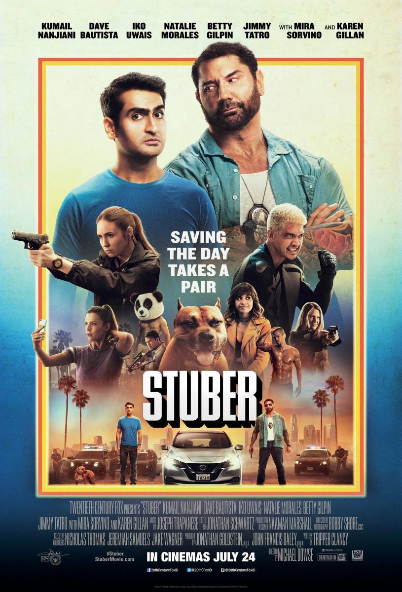 Stuber Express [2019][Latino][1080p][MEGA y Google Drive]
