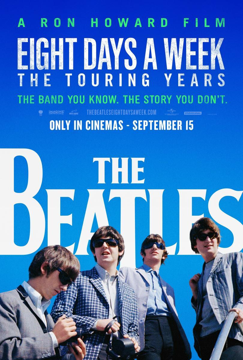 Cartel promocional de Eight Days A Week: The Touring Years. (Imagen: Filmaffinity).