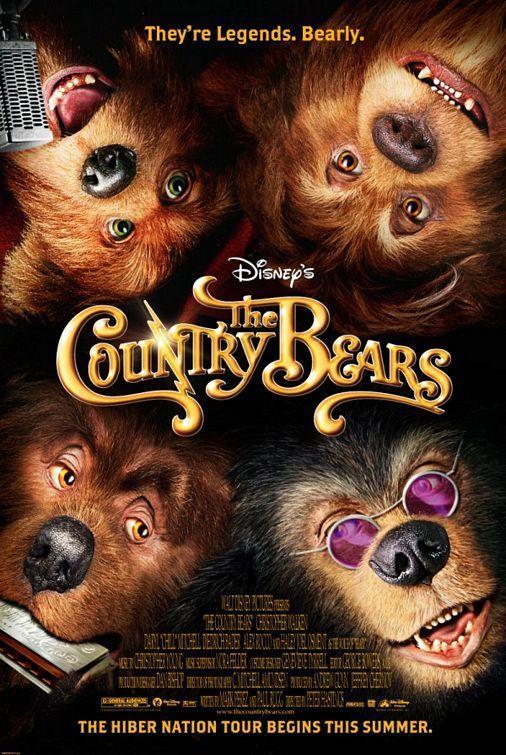 2002 Country Bears Dvd