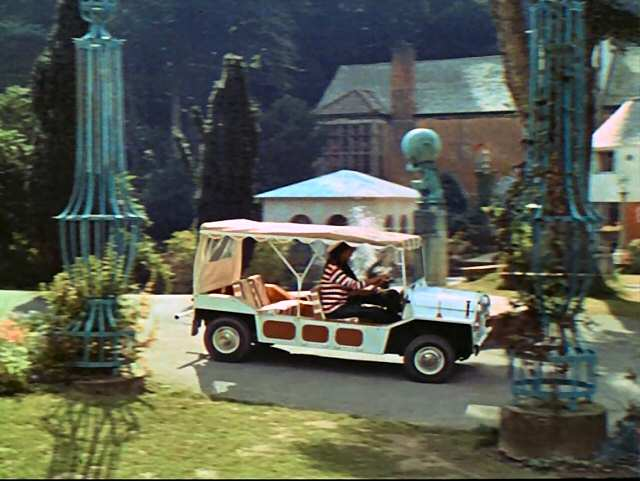 Imcdb Org 1965 Austin Mini Moke Wood Amp Pickett In Quot The Prisoner 1967 1968 Quot
