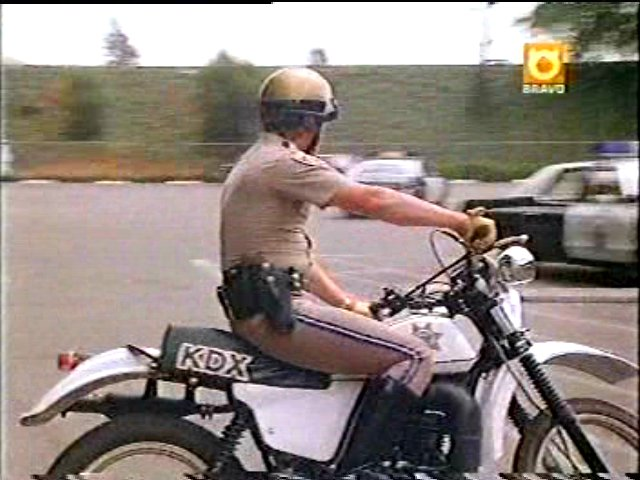 Kawasaki KDX In CHiPs 1977 1983