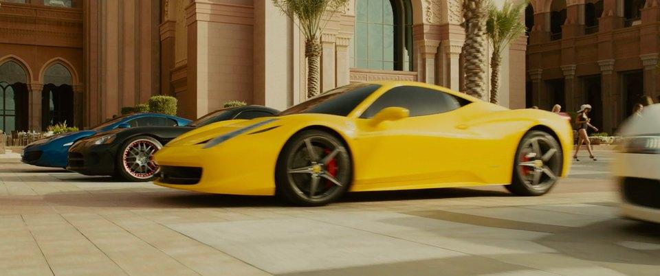 Imcdb Org 2010 Ferrari 458 Italia In Quot Furious 7 2015 Quot