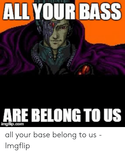 Amazon De Poster Foundry All Your Base Are Belong To Us Internet