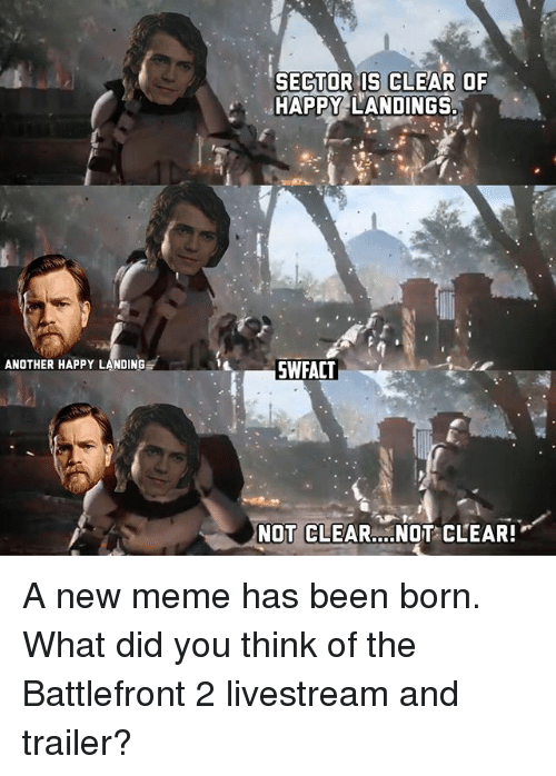 When Someone Posts A Sector Is Clear Meme About There Being No