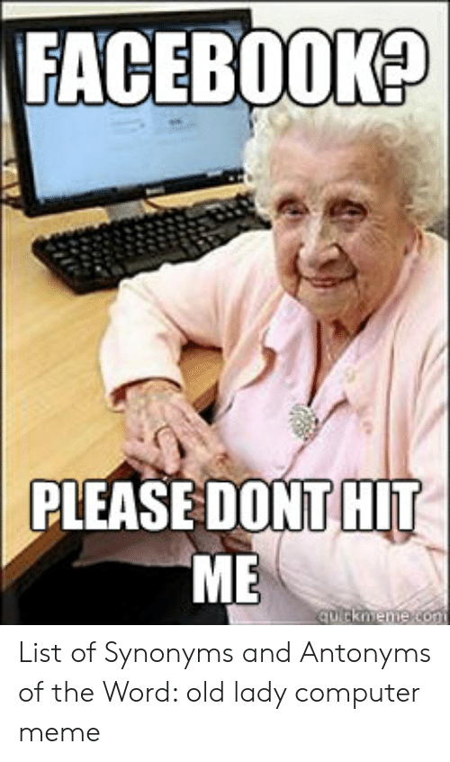 25 Best Memes About Old Lady Computer Meme Old Lady Computer