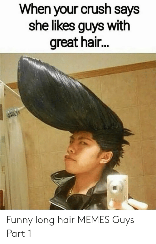 25 Best Memes About Guys With Hair Like This Meme Guys With