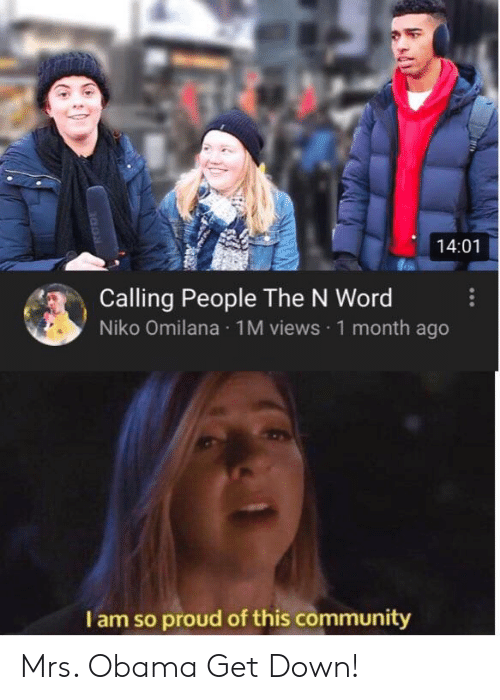 1401 Calling People The N Word Niko Omilana 1m Views 1 Month Ago I