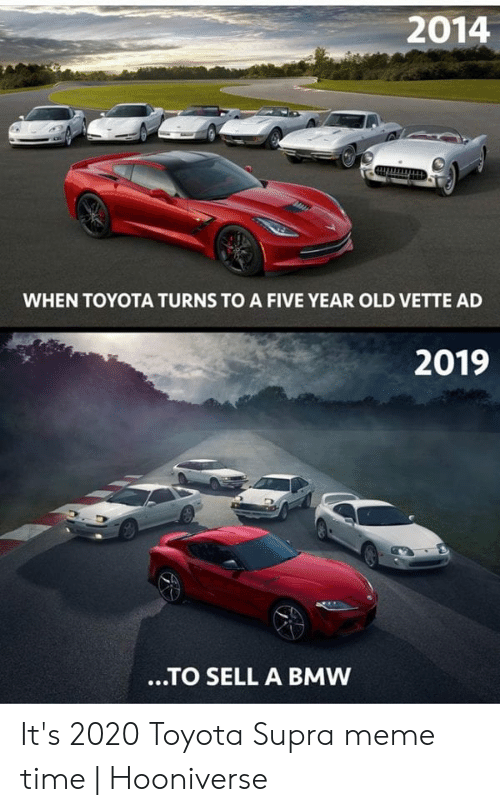 2014 When Toyota Turns To A Five Year Old Vette Ad 2019 To Sell A