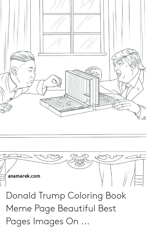 Anamarekcom Donald Trump Coloring Book Meme Page Beautiful Best Pages Images On Beautiful Meme On Me Me