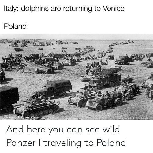 And Here You Can See Wild Panzer I Traveling To Poland Reddit