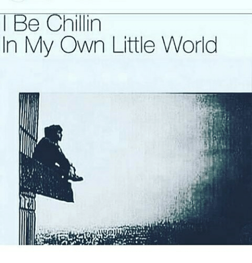 Be Chillin In My Own Little World Meme On Me Me