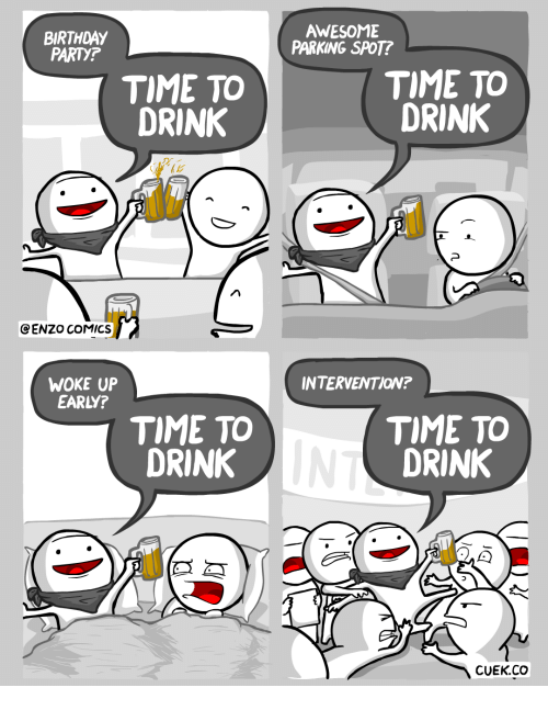 My First Drink Was Vodka Hence All The Vodka In My Comics By