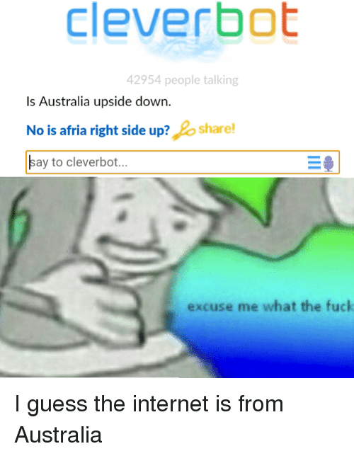 Memers Make Memes About Australia And New Zealand Being Upside