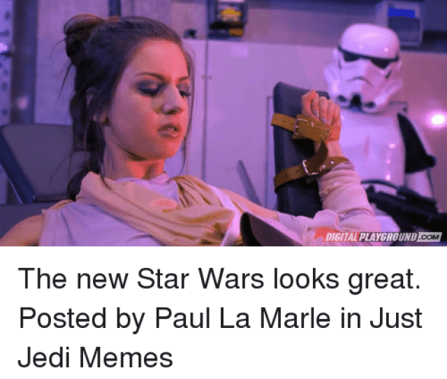 Jedi Memes And Star Wars Digital Playground Com The New Star Wars
