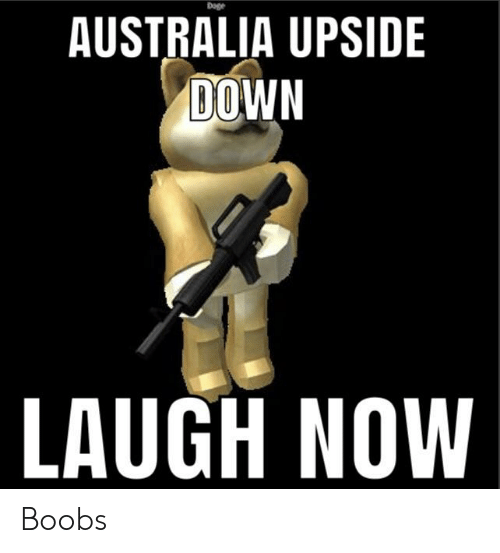 Nonono It Coulda Been Better If The Kangaroo Was Upside Down