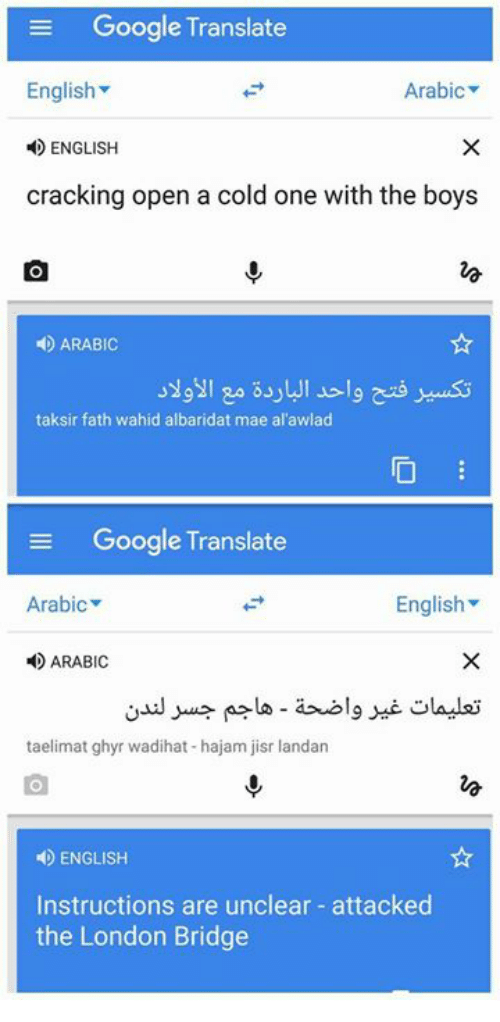 flirting meaning in arabic language translation google translate
