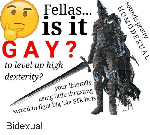 Sword Fight And Gay Fellas Is It Gay To