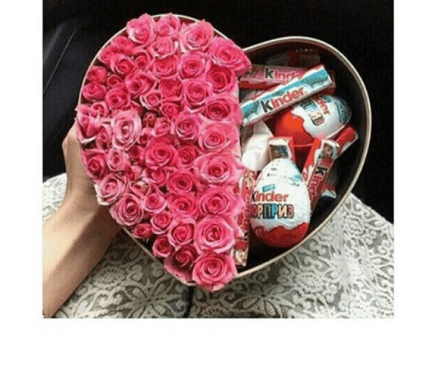 Girls Valentines Day And Chocolate Flowers Chocolate Perfect Gift Krider Incase You Don