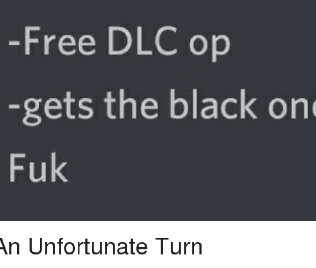 Black Free And One Free Dlc Op Gets The Black One