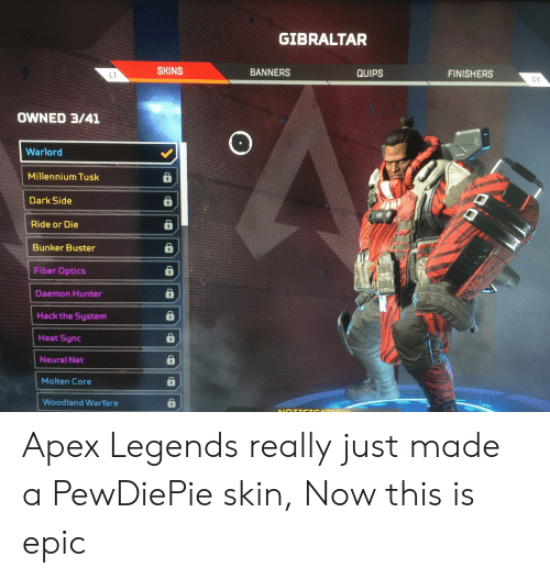 Apex Legends Gets Woke Early Reveals Gibraltar Is Gay Bloodhound