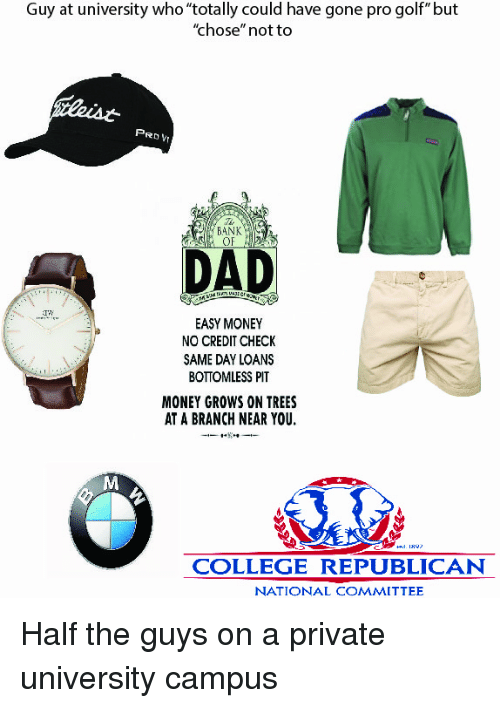 Rich Older Man At Country Club Starter Pack Golf Starter Pack