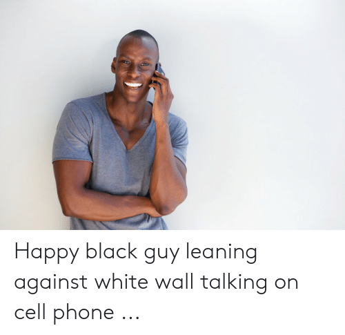 Qlve Dissolve Ive Drive Dve Smiling Black Man Texting On Cell