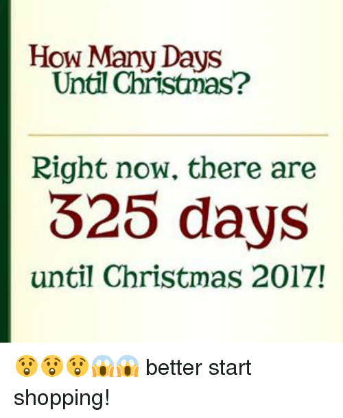 How Many Days Until Christmas Meme.How Many Days Christmas 2017 Thecannonball Org