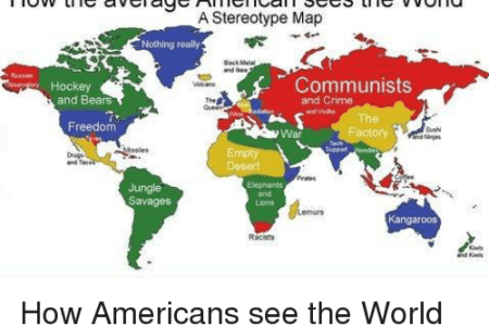 Map how americans see the world map of the world free wallpaper to some american stereotypes an update map of the day how americans view the world part ii shoe untied map the american world atlas of prejudice gumiabroncs Choice Image