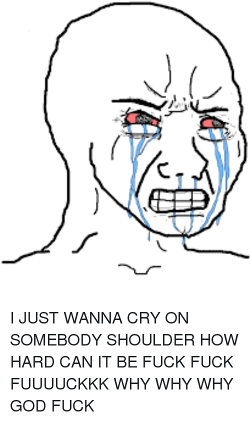 Try Hard Not Not To Cry By Denpants Meme Center
