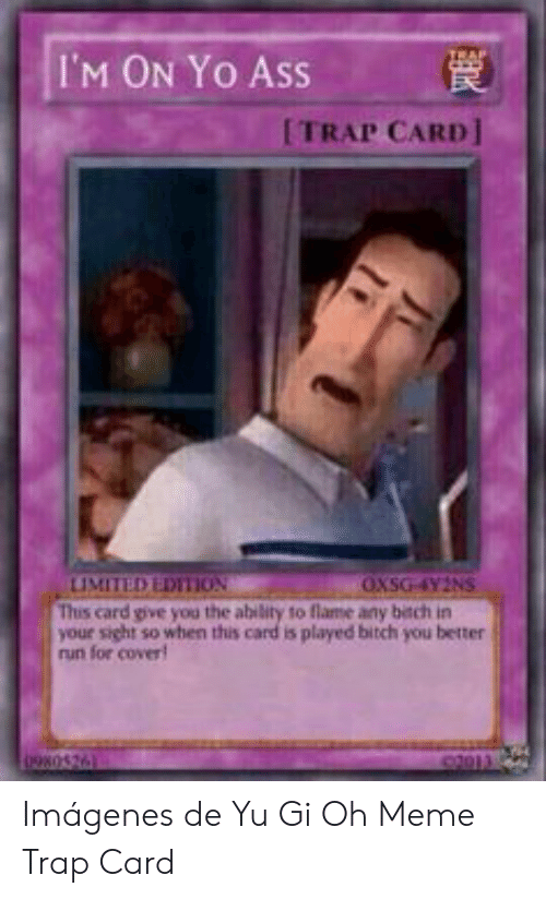 Hitler Stare I Trap Card I Activate When Your Opponent Declares An