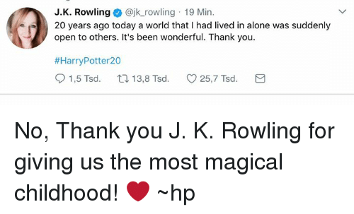Being Alone Memes And Thank You J K Rowling Jk Rowling 19 Min