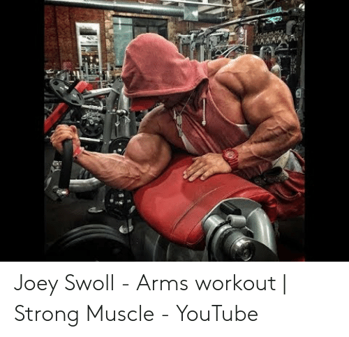 Joey Swoll Arms Workout Strong Muscle Youtube Youtube Com