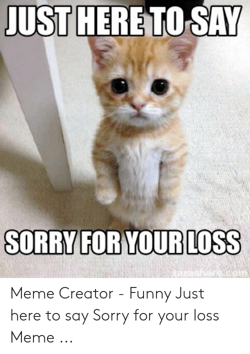 Sorry For Your Loss I Have A Bf Meme Youtube