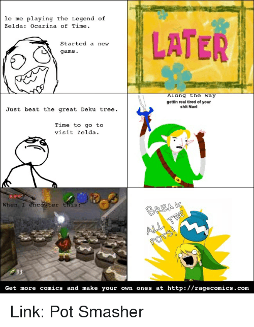 Le Me Playing The Legend Of Zelda Ocarina Of Time Later Started A