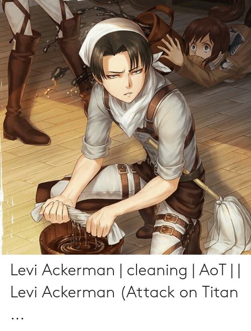 Cleaning Levi Know Your Meme