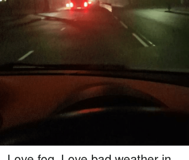 Memes Whip And Weather Love Fog Love Bad Weather In General