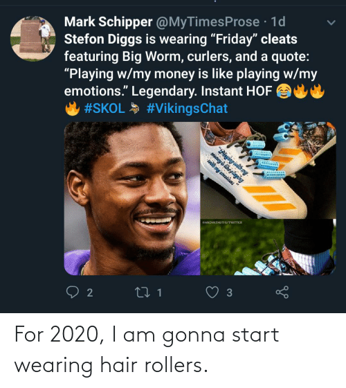 Mark Schipper 1d Stefon Diggs Is Wearing Friday Cleats Featuring