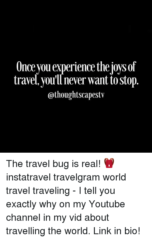Once You Experience The Joysof Travel You Ll Never Want To Stop