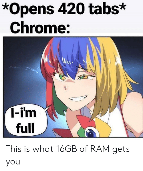 How Many Chrome Tabs Can You Open With 2tb Ram Youtube